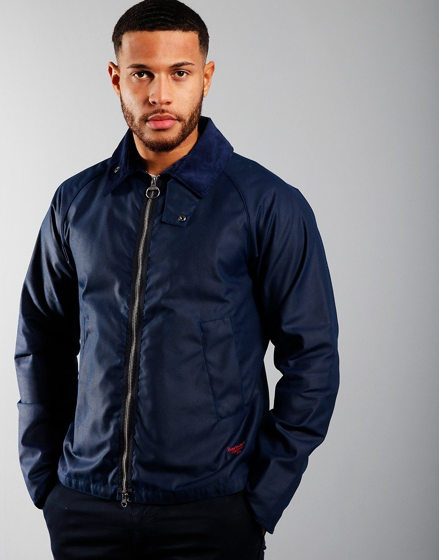 Barbour Beacon Munro Wax Jacket Regal