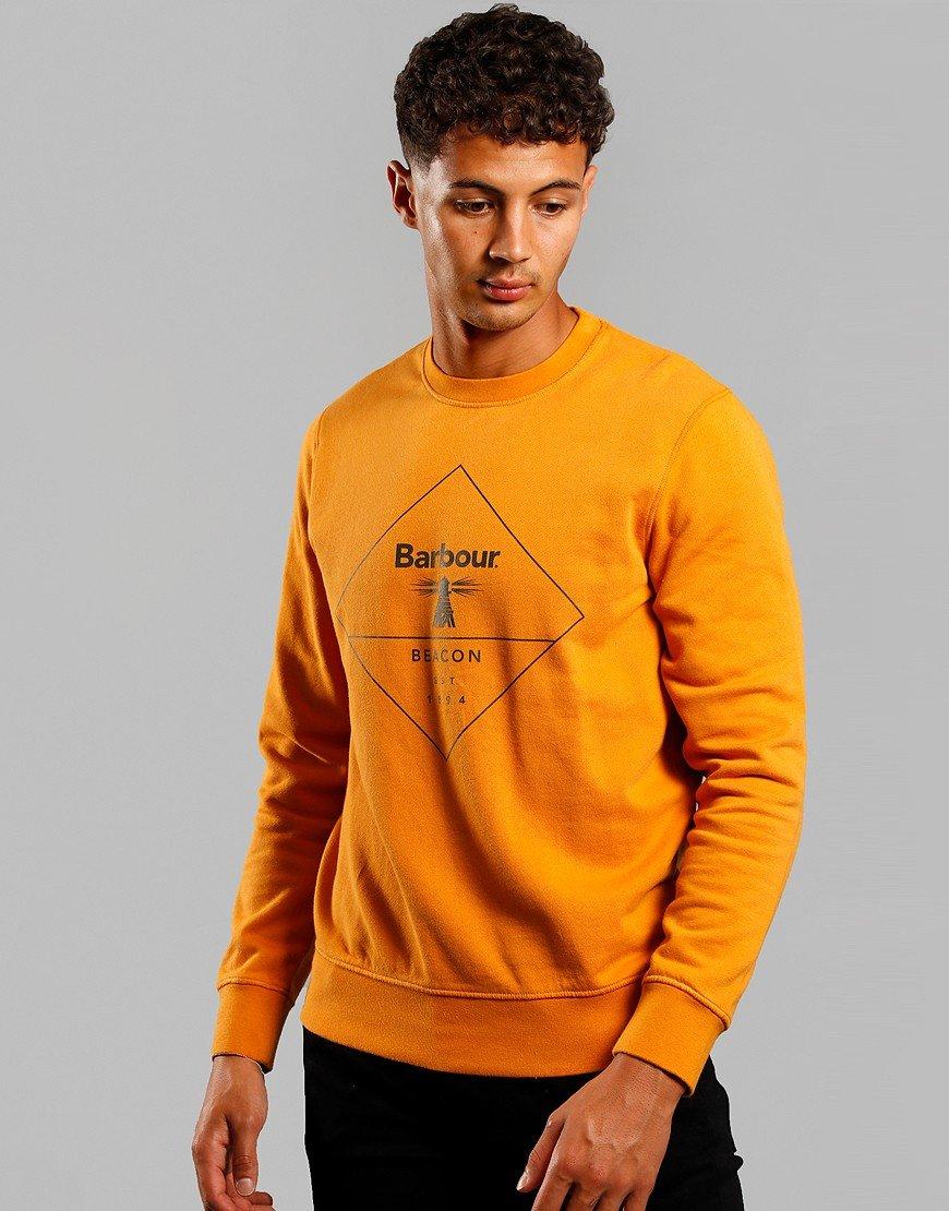 Barbour Beacon Outline Sweatshirt Gold