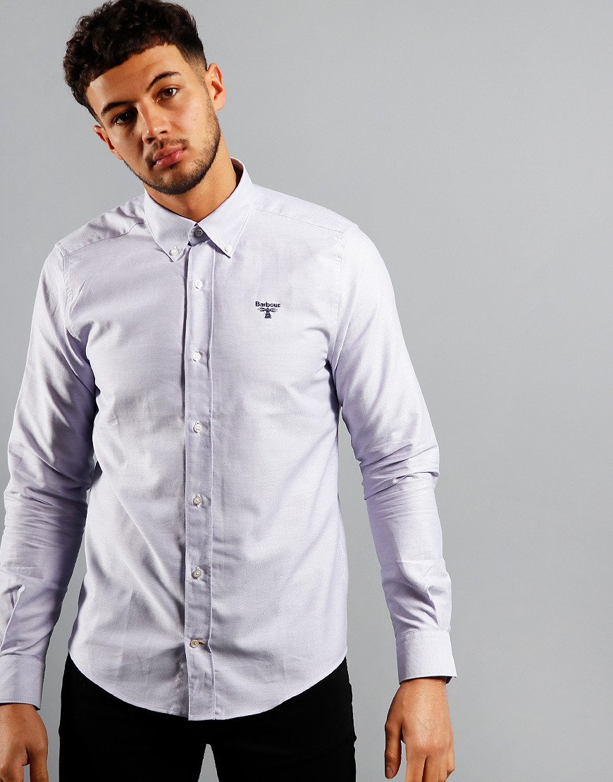 Barbour Oxford 3 Long Sleeve Shirt Thistle