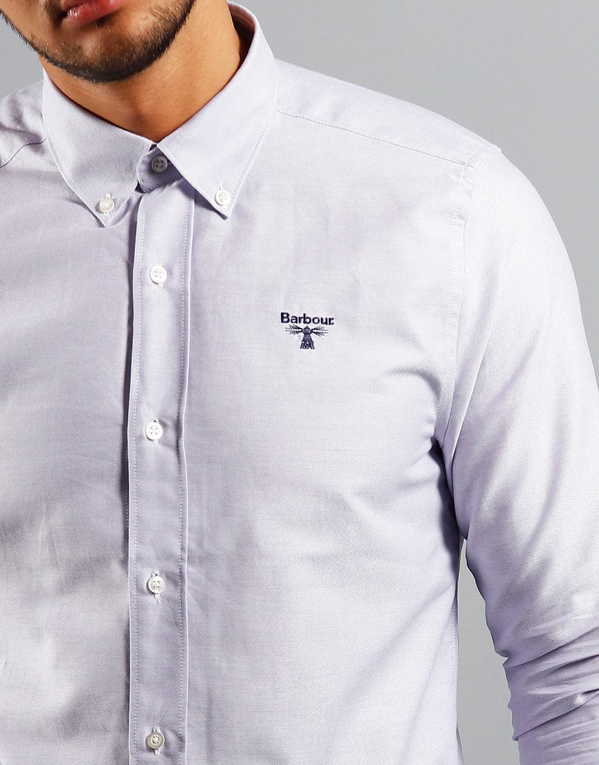 Barbour Beacon Oxford 3 Long Sleeve Shirt Thistle