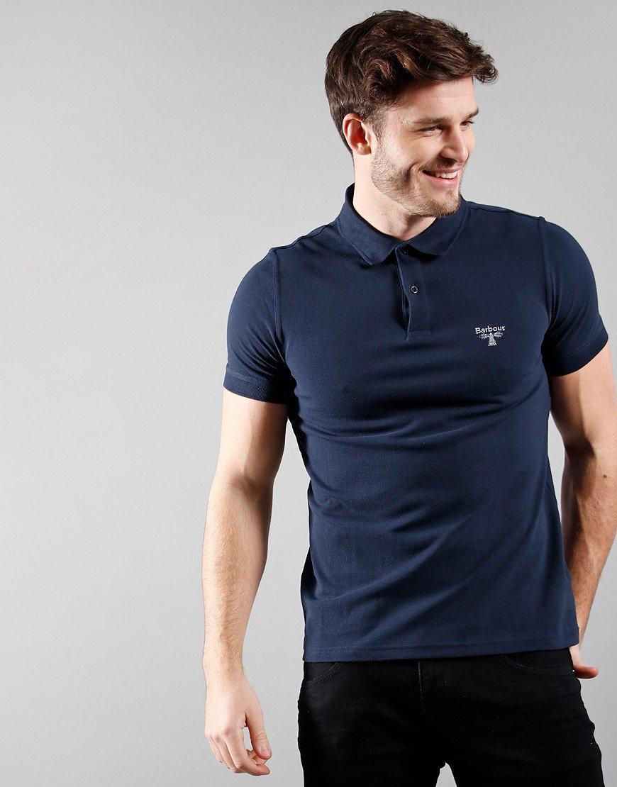 Barbour Beacon Polo Shirt Navy