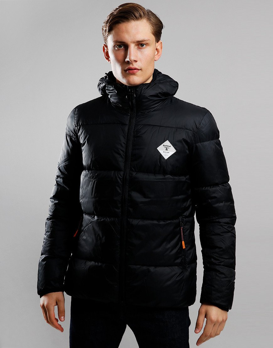 Barbour Beacon Ross Quilted Jacket Black