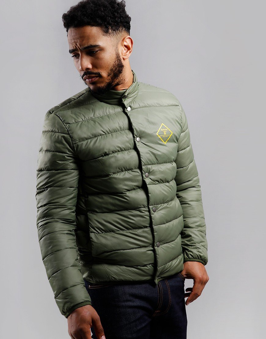 Barbour Beacon Sergeant Quilted Jacket Moss