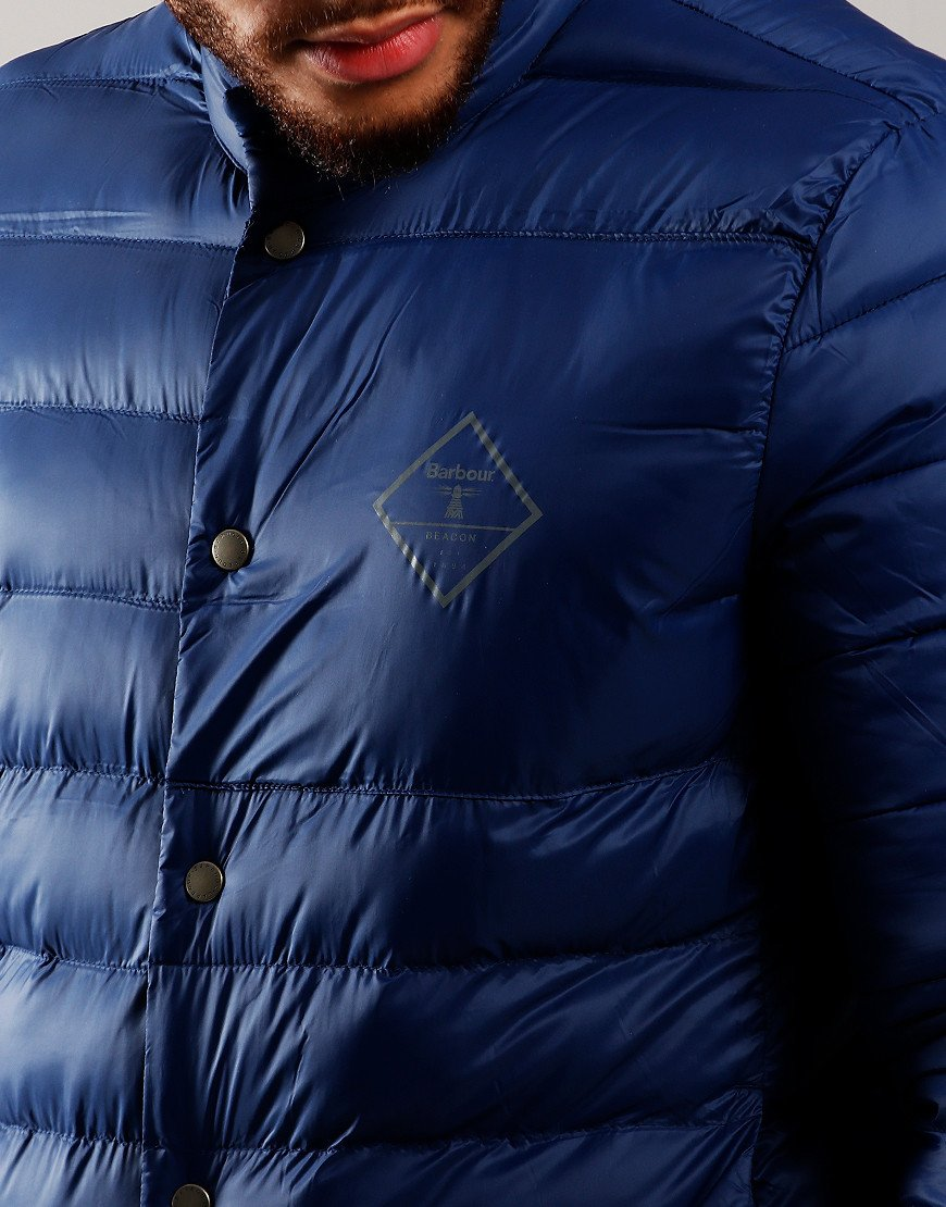 Barbour Beacon Sergeant Quilted Jacket Regal