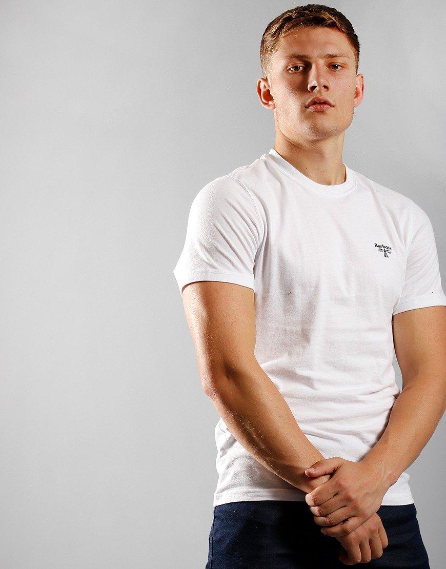 Barbour Beacon Small Logo T-Shirt White