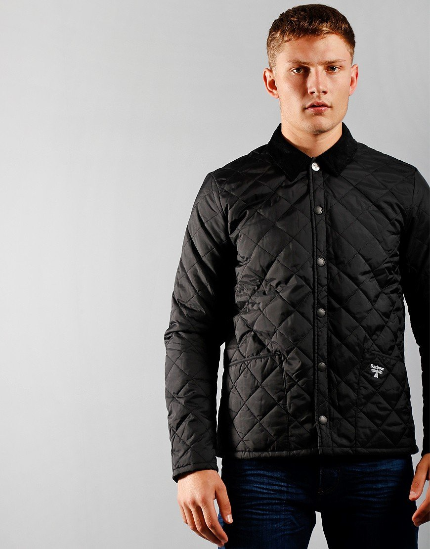 Barbour Beacon Starling Quilted Jacket Black
