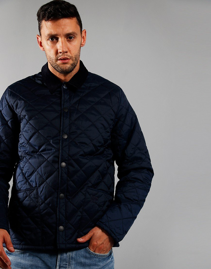 Barbour Beacon Starling Quilted Jacket Royal Navy