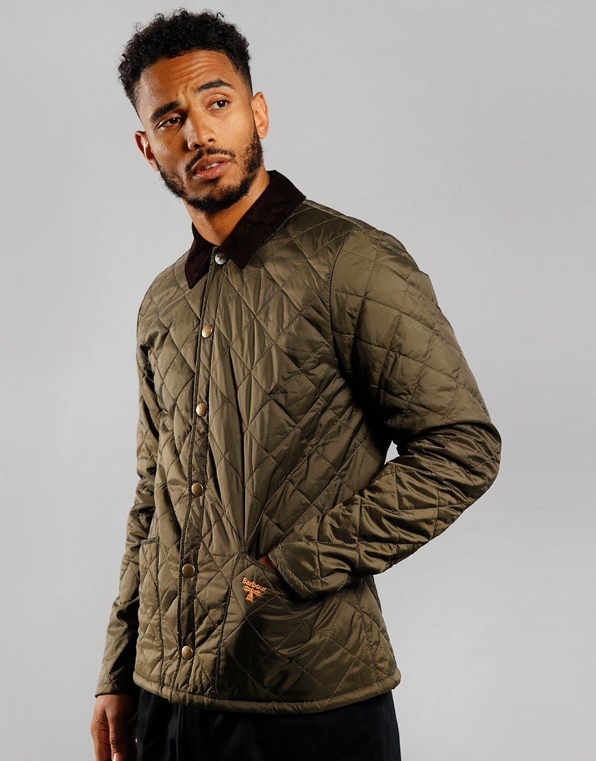 Barbour Beacon Starling Quilted Jacket Olive