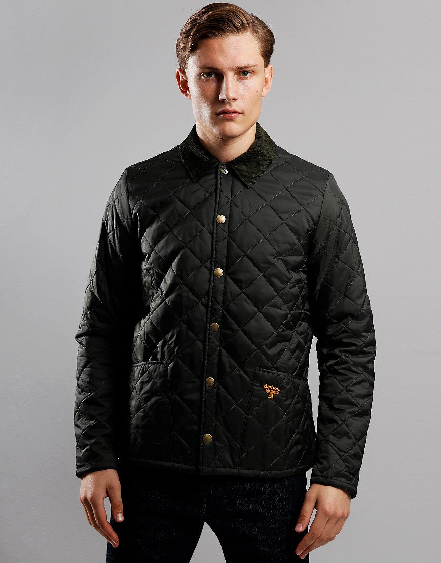 Barbour Beacon Starling Quilted Jacket Sage