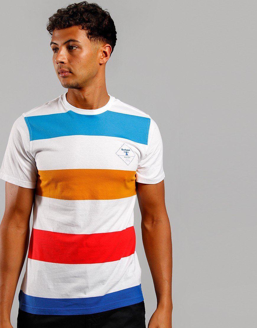 Barbour Beacon Stripe T-Shirt White