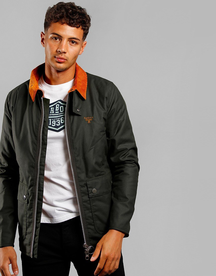 Barbour Beacon Trinder Jacket Sage