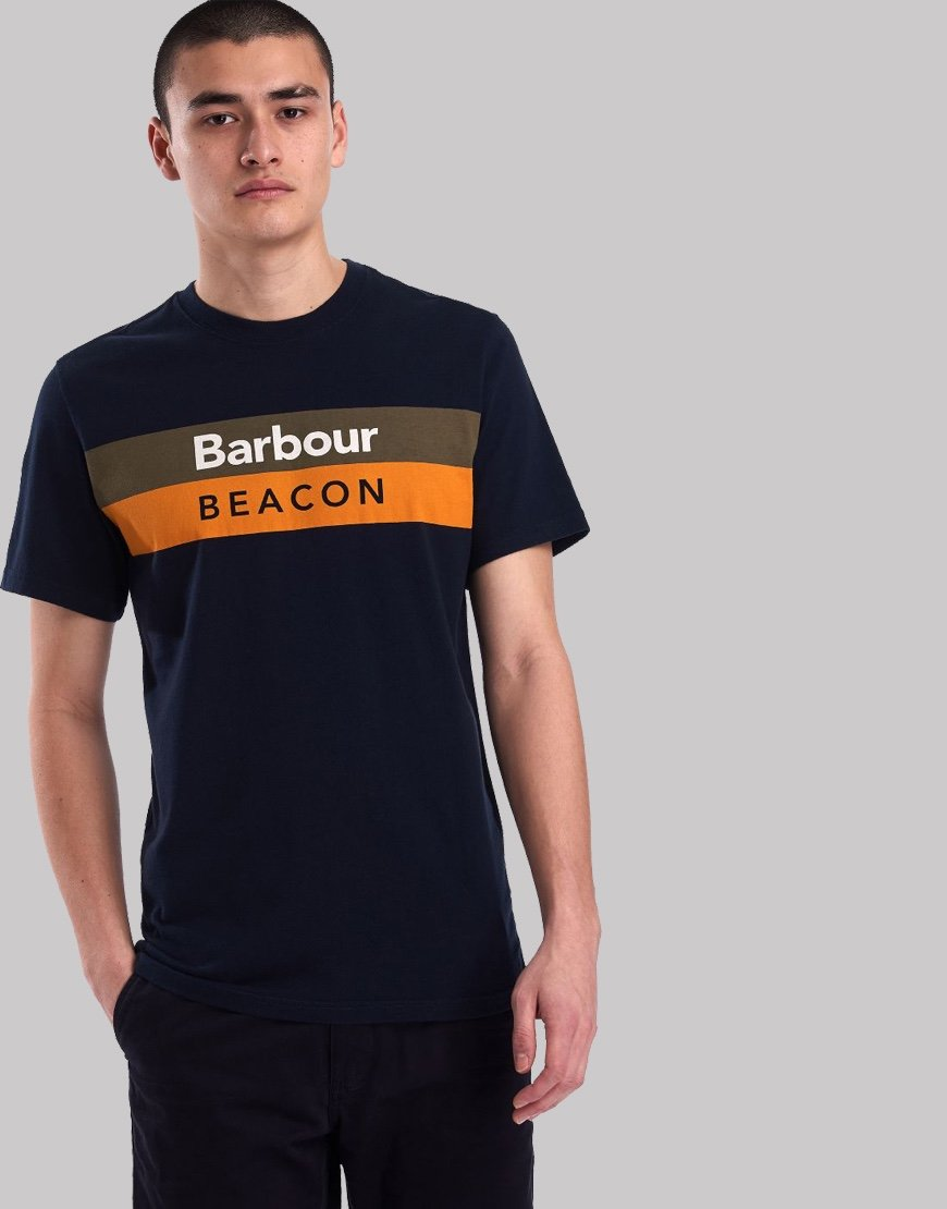 Barbour Beacon Wray T-Shirt New Navy