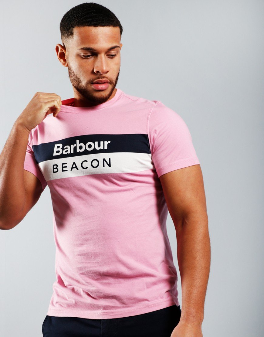 Barbour Beacon Wray T-Shirt Lilac
