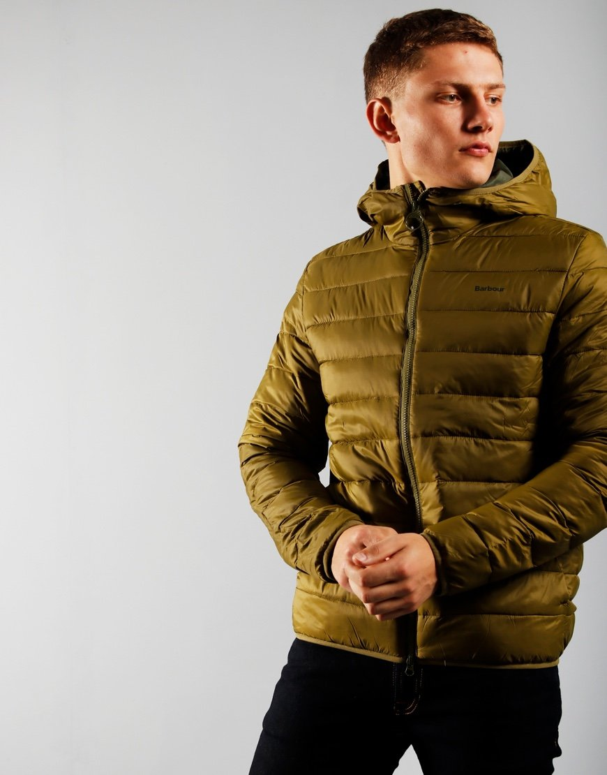 Barbour Benton Quilted Jacket Fir Green