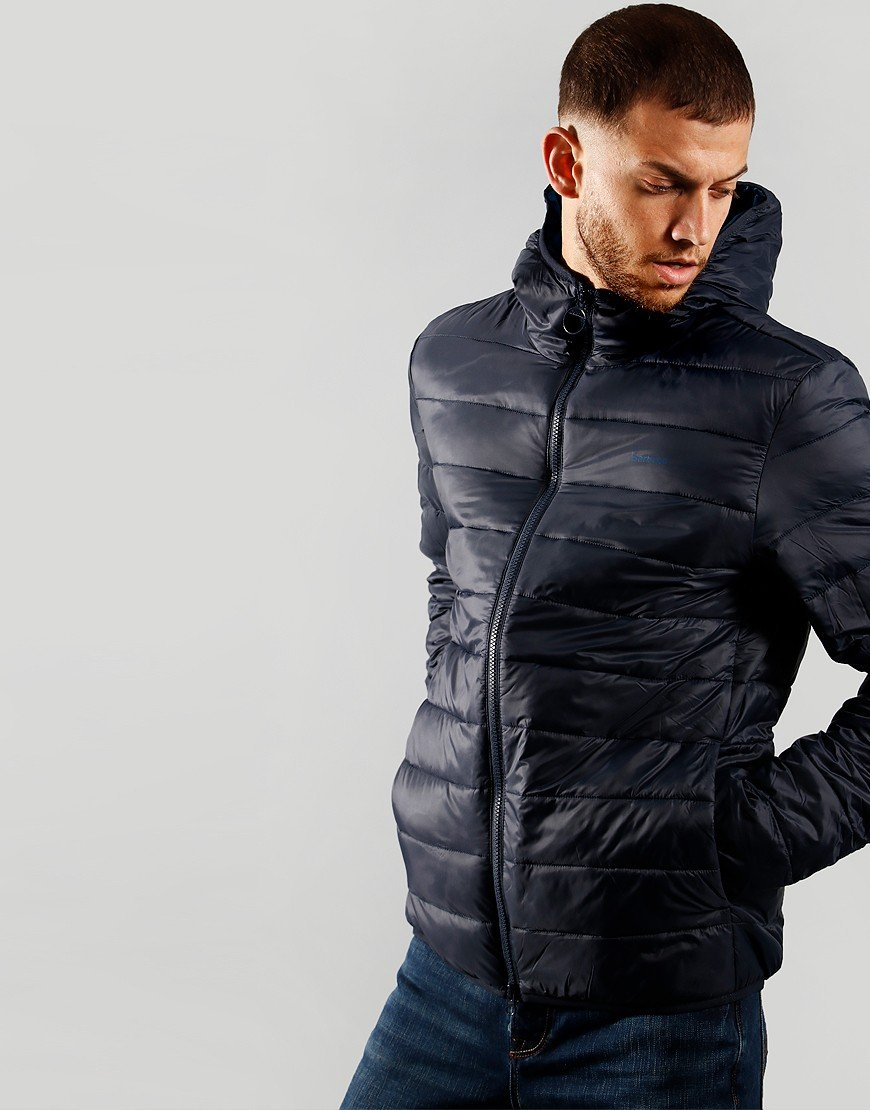 Barbour Benton Quilted Jacket Navy