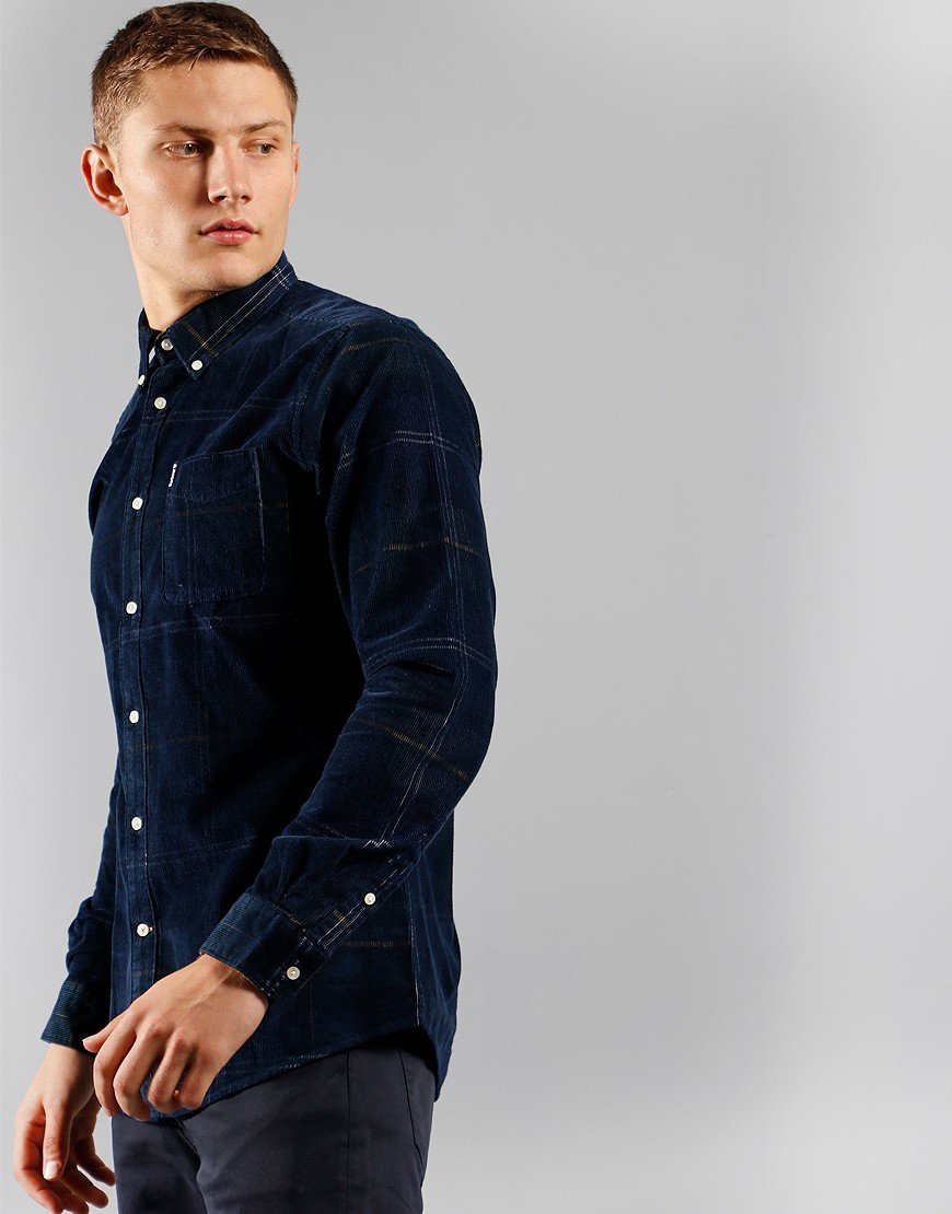 Barbour Blair Long Sleeve Shirt Seaweed