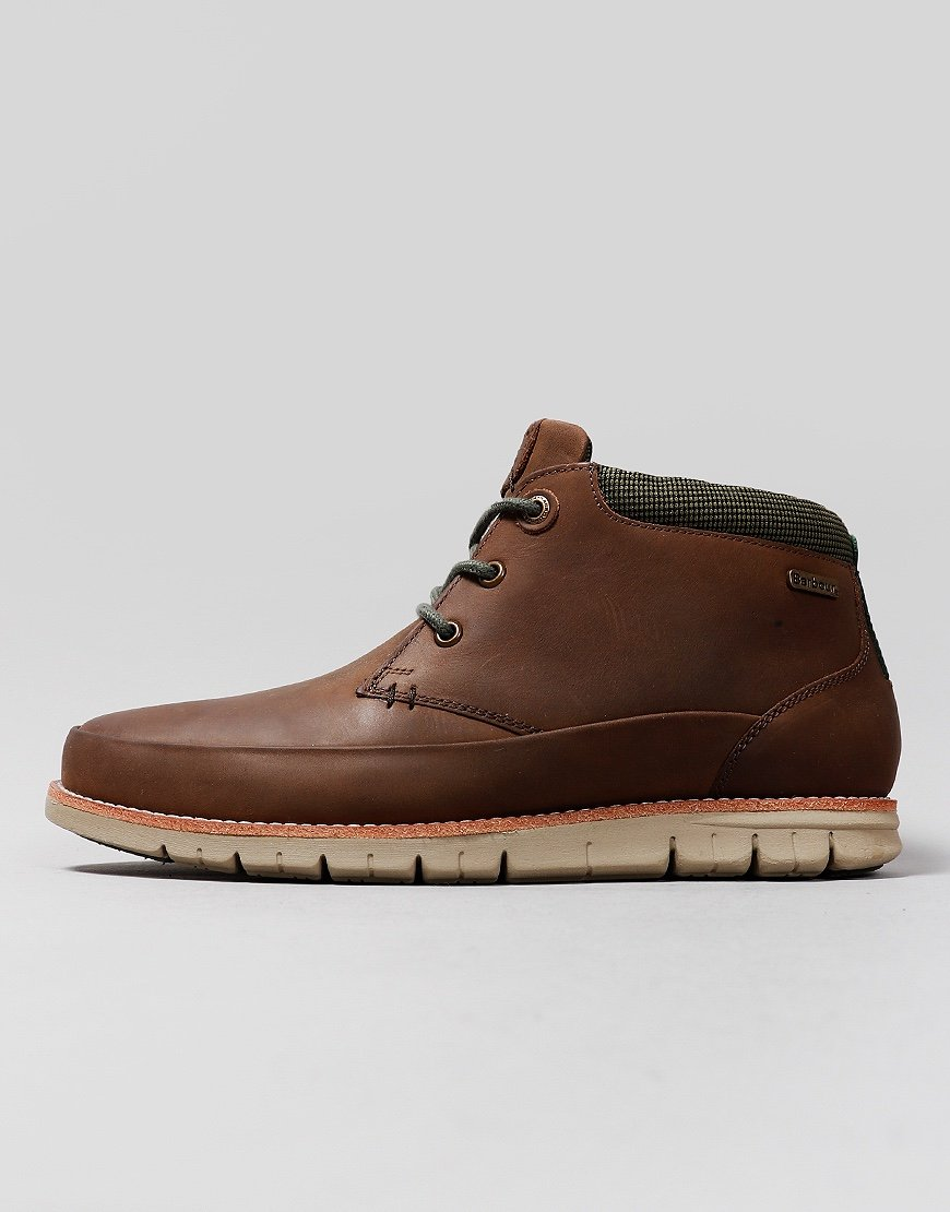 Barbour Nelson Chukka Boots Choco