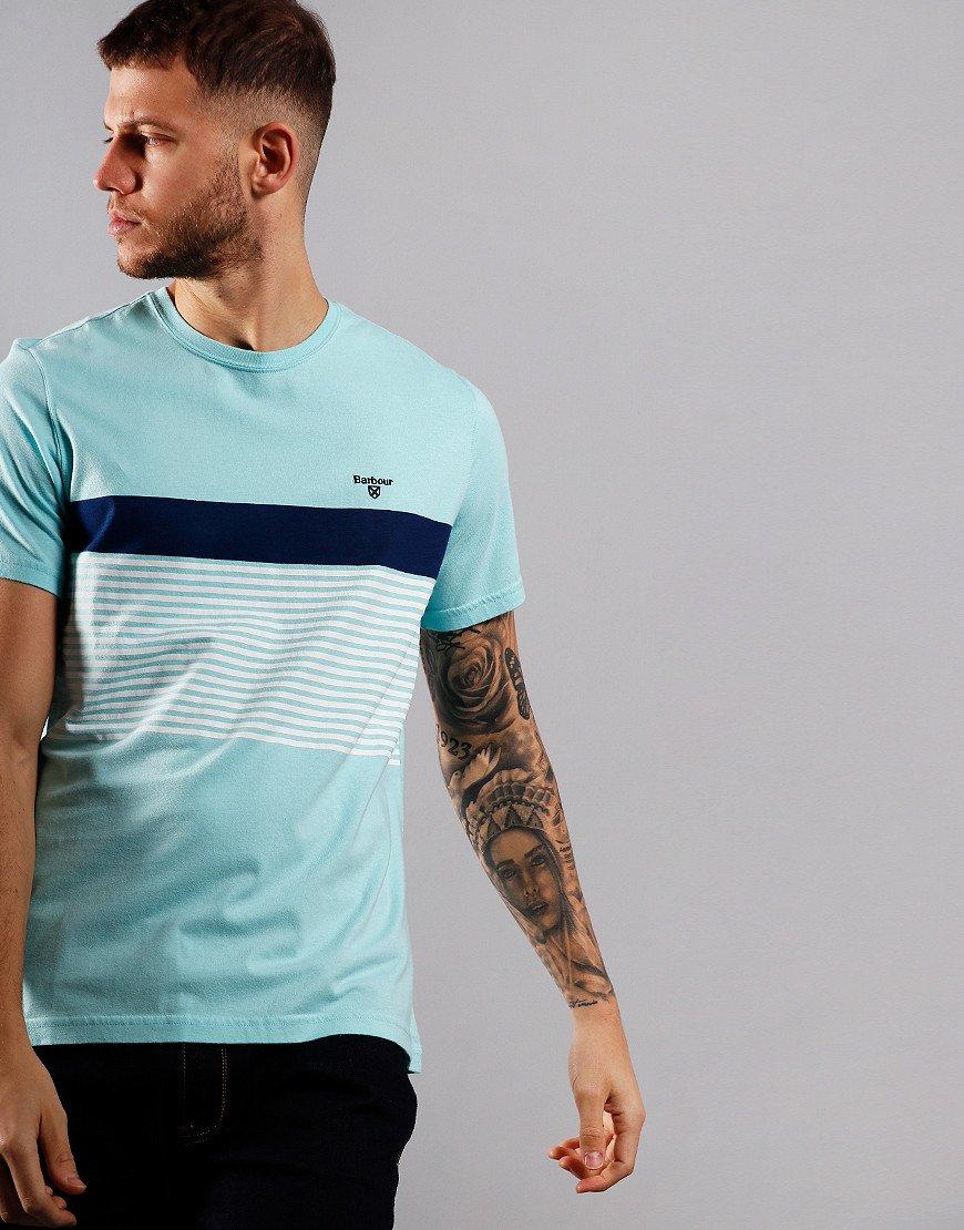 Barbour Braeside T-Shirt Aqua Marine