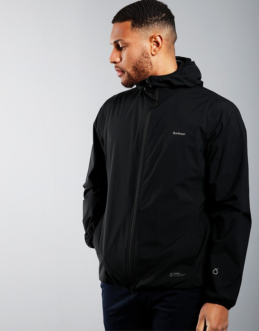 Barbour Bransby Waterproof Jacket Black