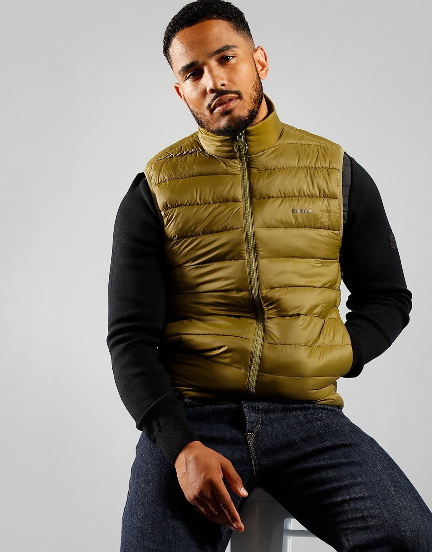 Barbour Bretby Quilted Gilet Fir Green