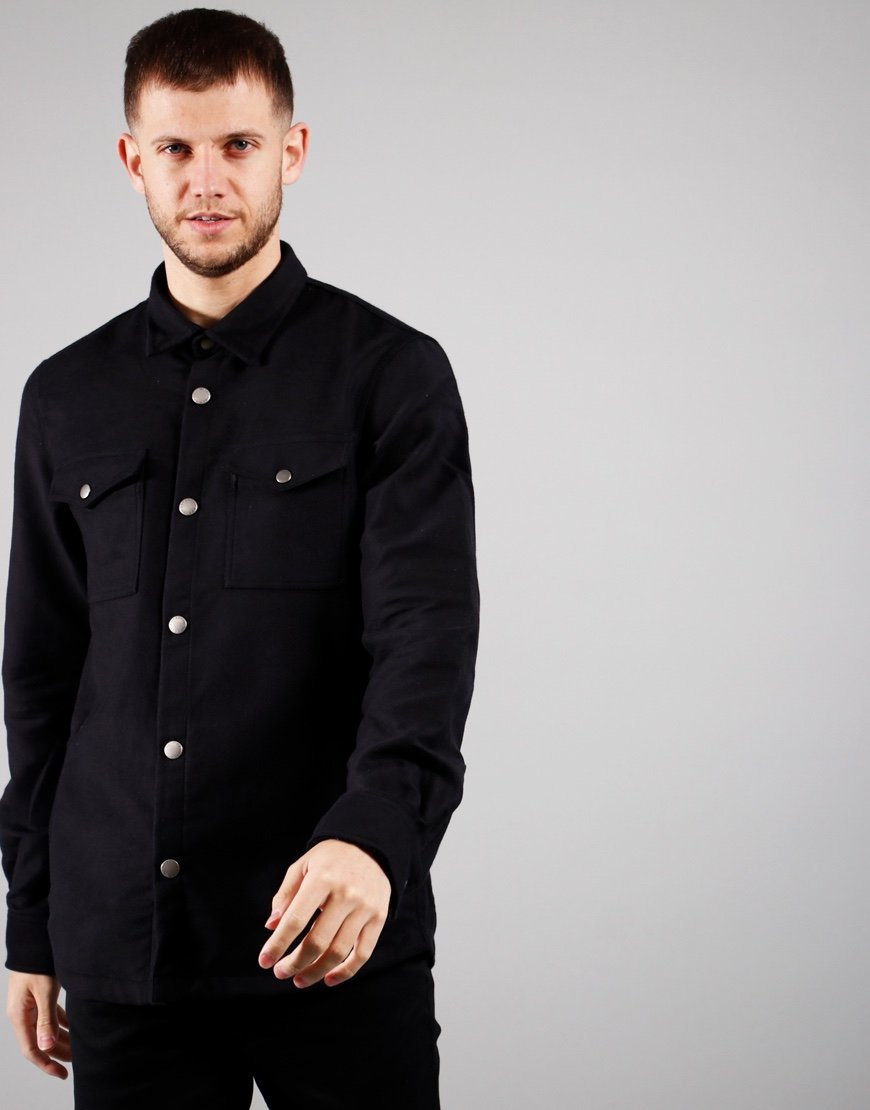 Barbour Beacon Cambridge Overshirt Black