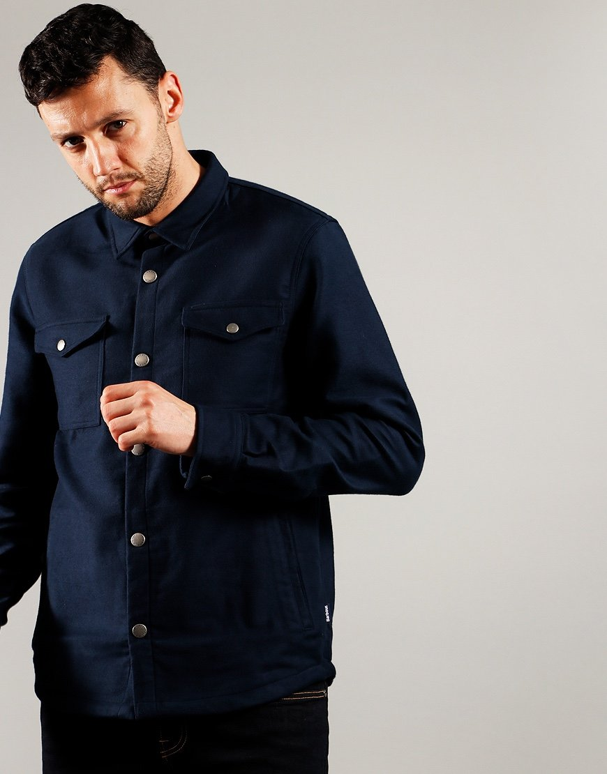 Barbour Cambridge Overshirt Navy