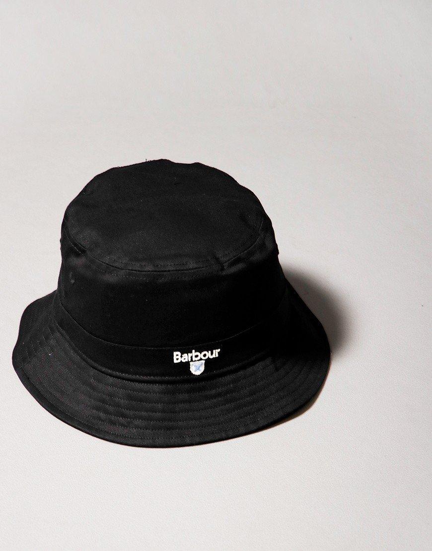 Barbour Cascade Bucket Hat Black