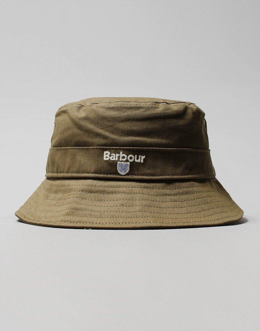 Barbour Cascade Bucket Hat Olive