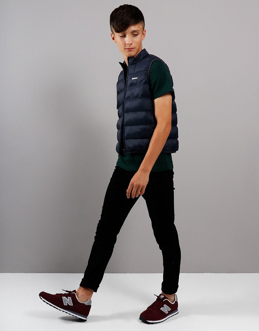 Barbour Children Bretby Quilted Gilet Navy