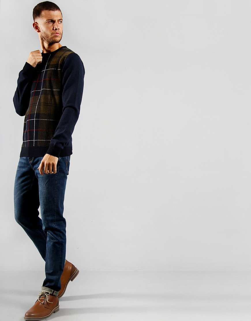 Barbour Coldwater Knit Navy