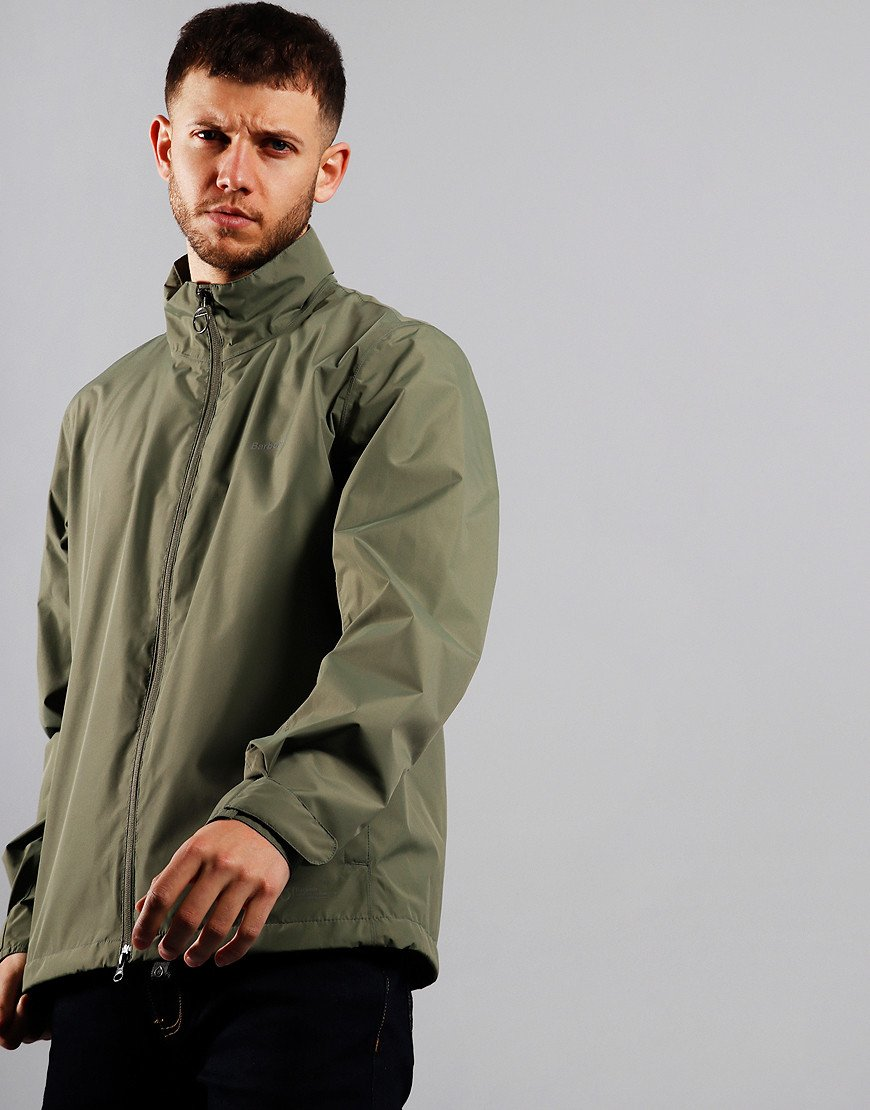 Barbour Cooper Waterproof Jacket Dusty Olive