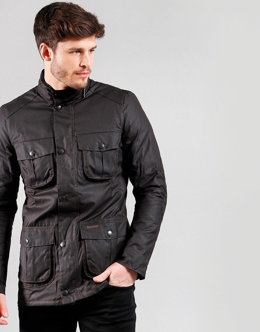 Barbour Corbridge Wax Jacket Rustic