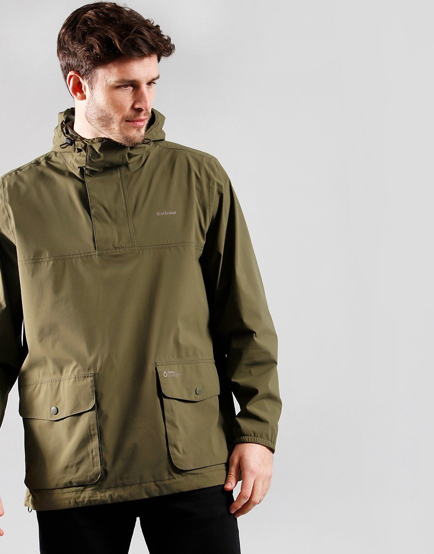 Barbour Cragside Smock Jacket Fern