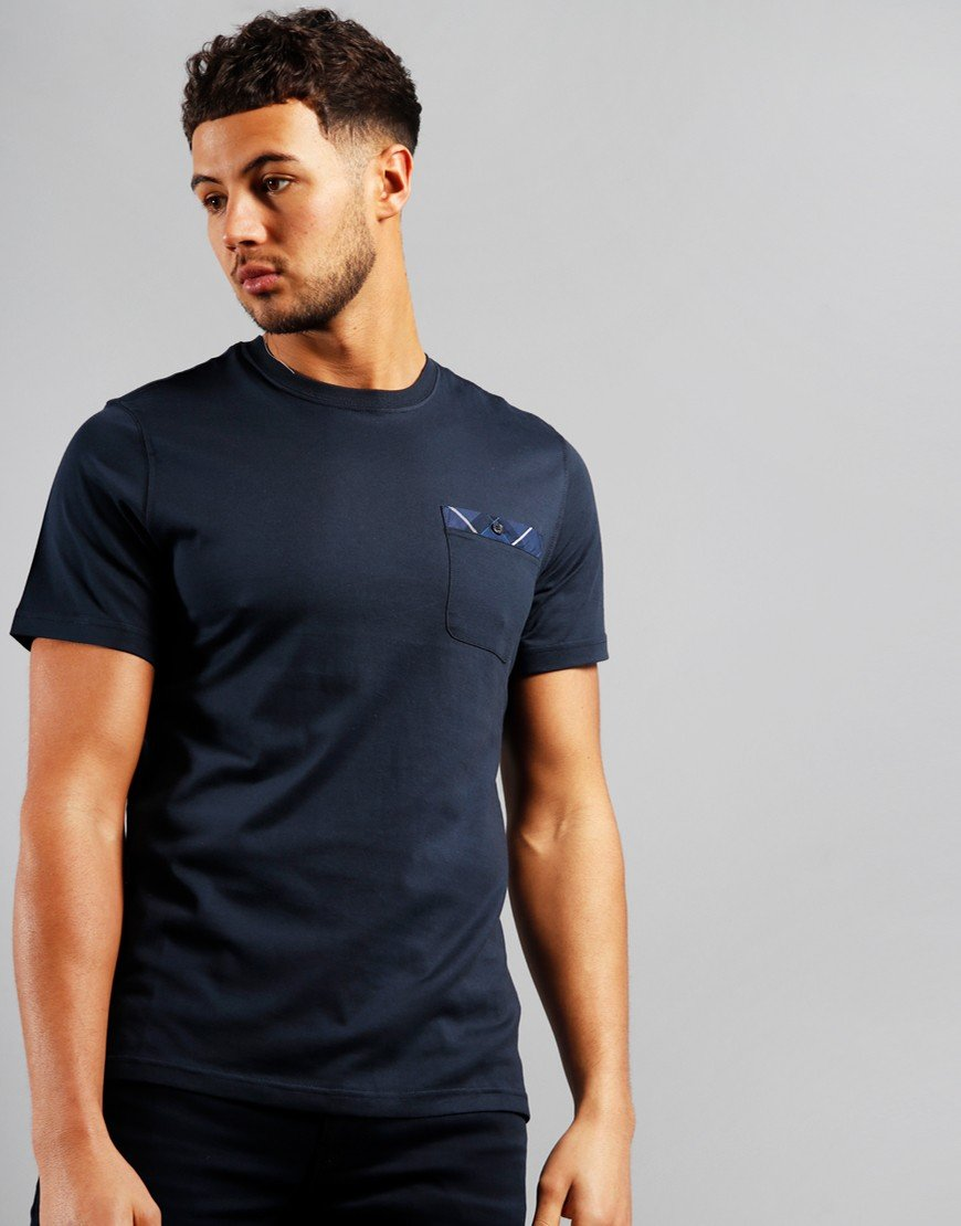 Barbour Durness Pocket T-Shirt Navy