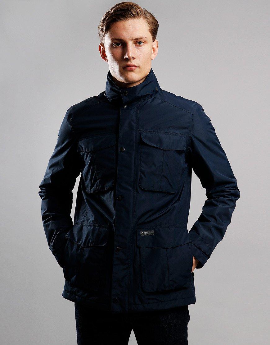 Barbour Hexham Waterproof Jacket Navy