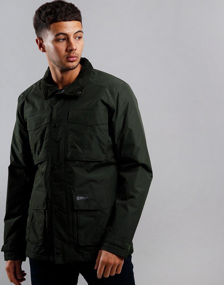 Barbour Hexham Waterproof Jacket Sage