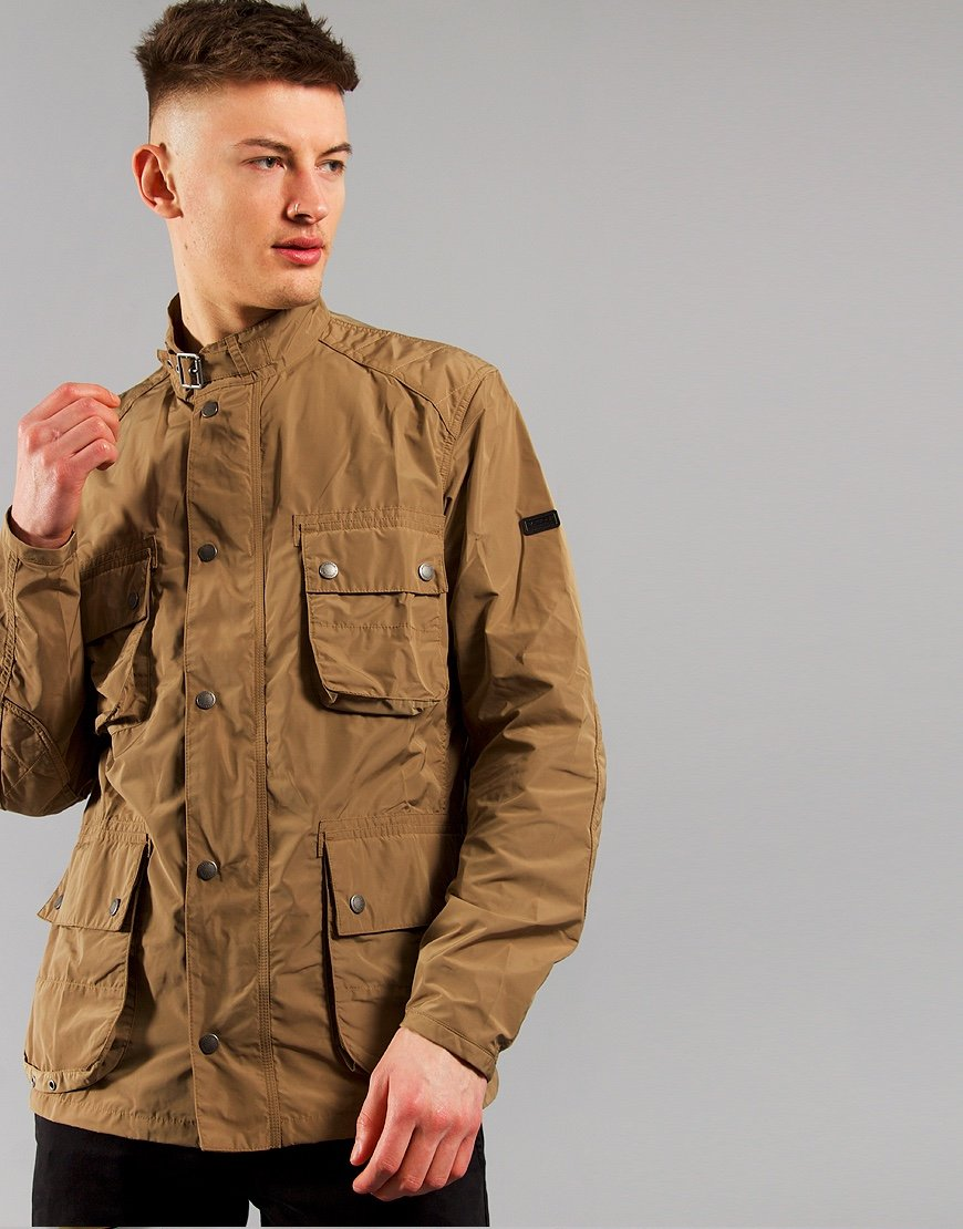 Barbour International Weir Casual Jacket Military Brown
