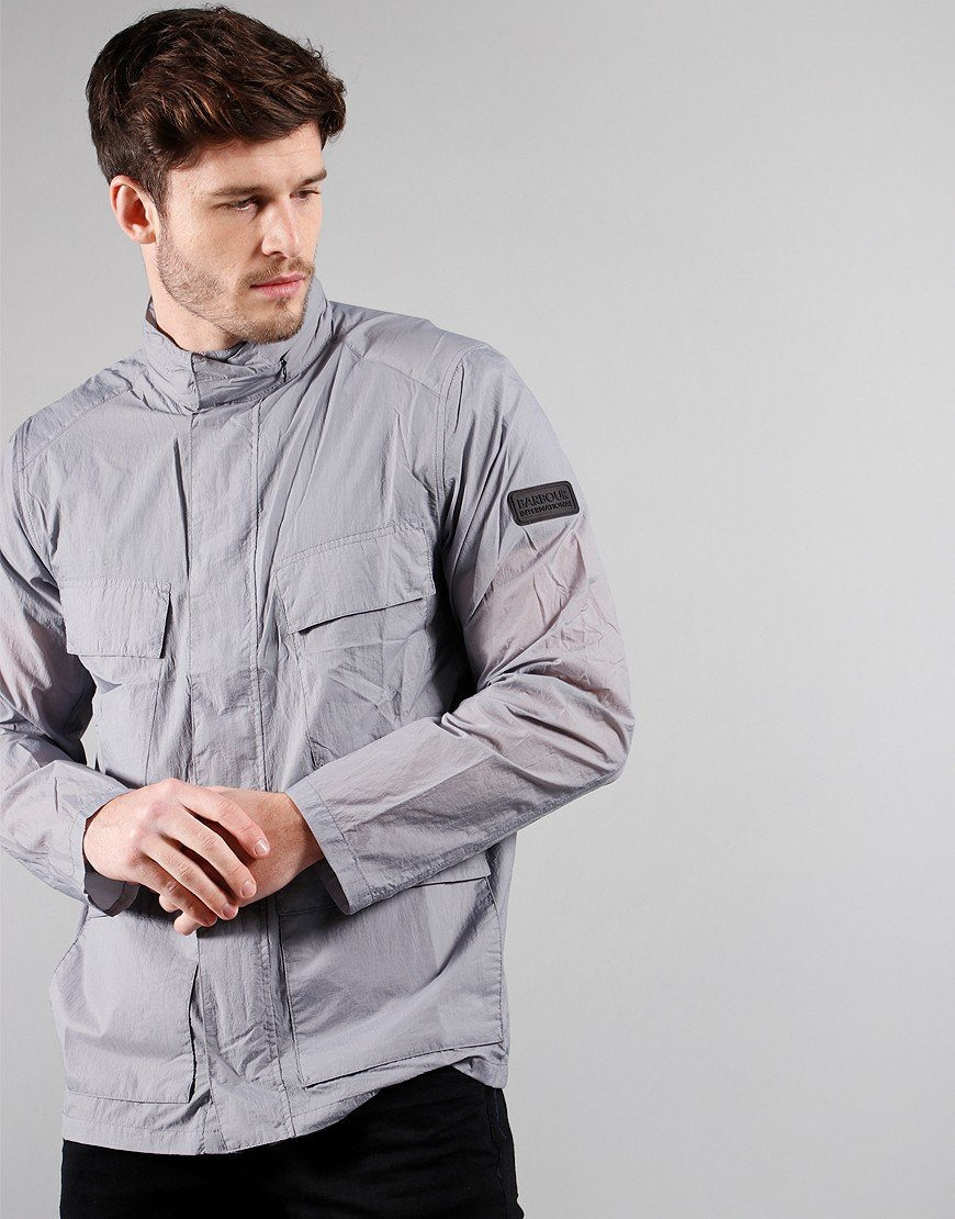 Barbour International Atholl Casual Jacket Grey