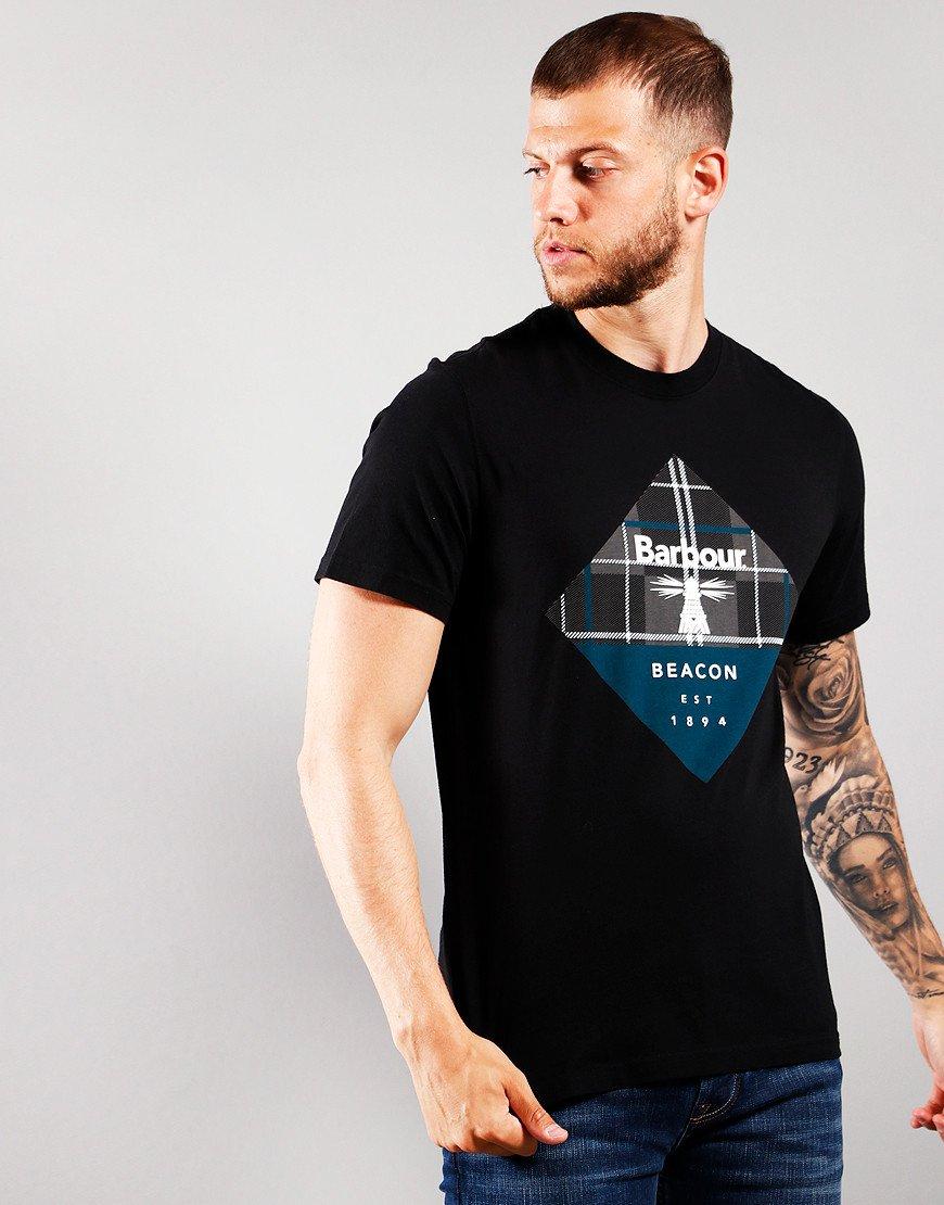 Barbour International Becker T-Shirt Black
