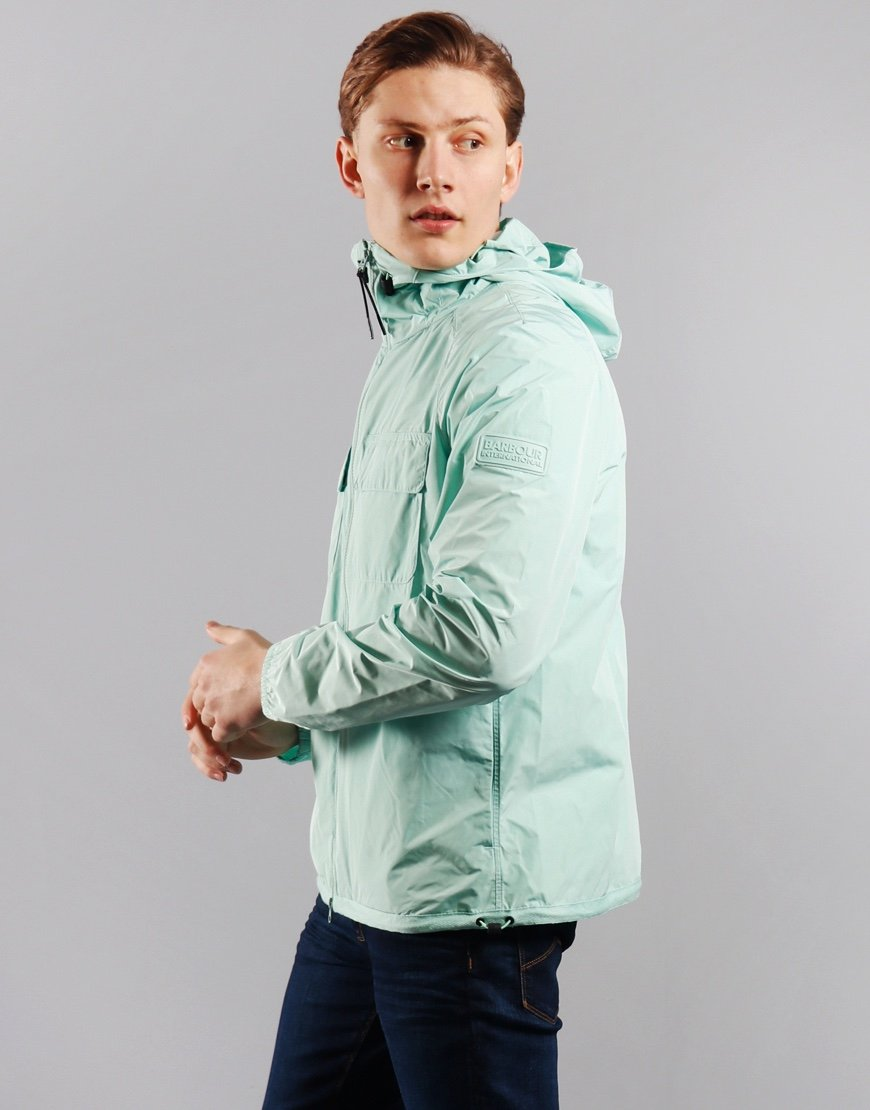Barbour International Boldon Hooded Jacket Peppermint