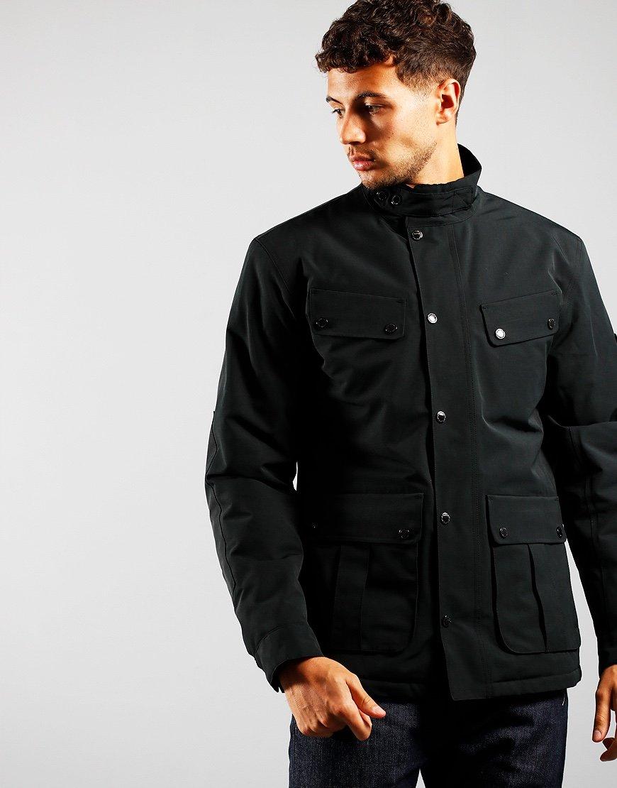 Barbour International Duke Waterproof Jacket Black