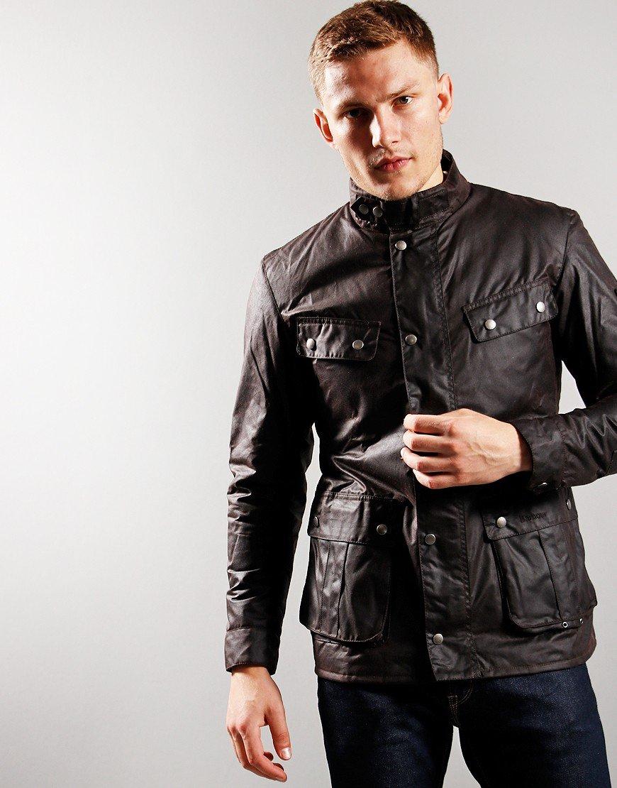 Barbour International Duke Wax Jacket   Rustic
