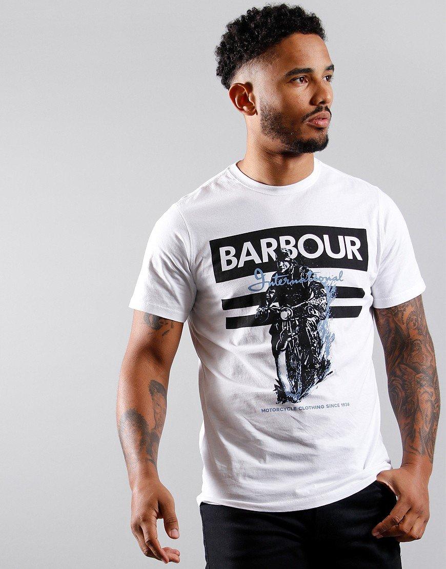 Barbour International Heritage T-Shirt White