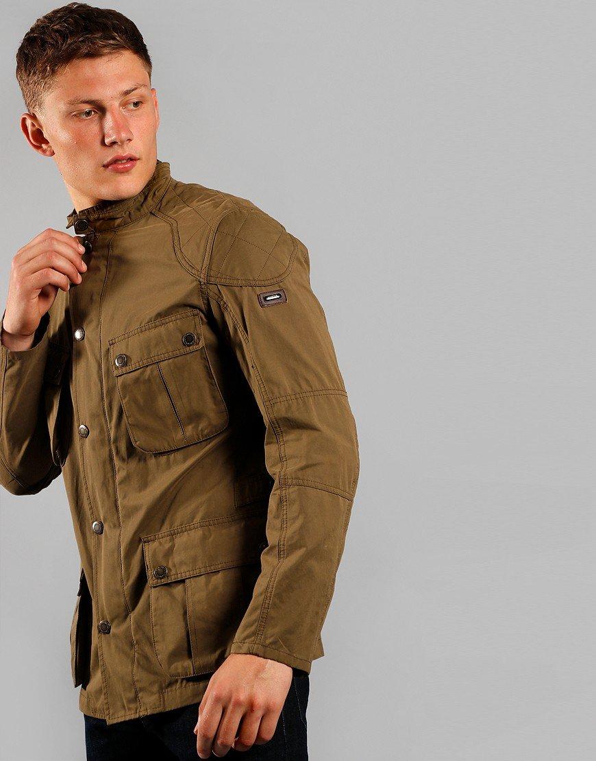 Barbour International Lockseam Jacket Dark Sand