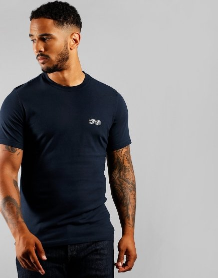 Barbour International Small Logo T-Shirt International Navy