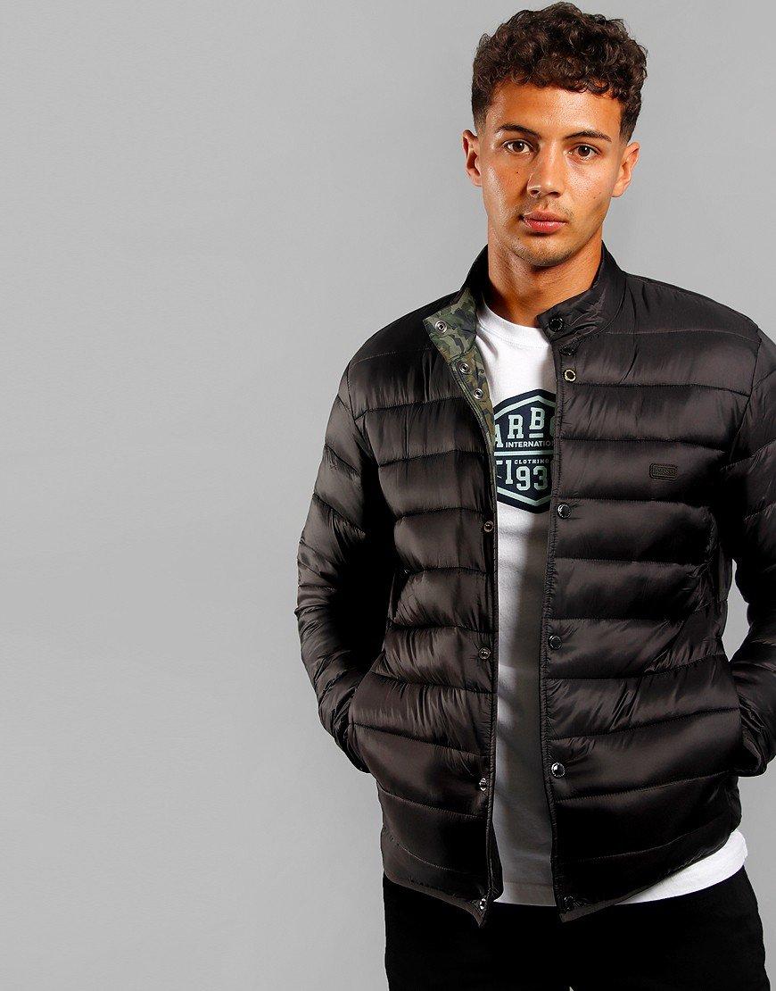 Barbour International Mark Quilted Jacket Black