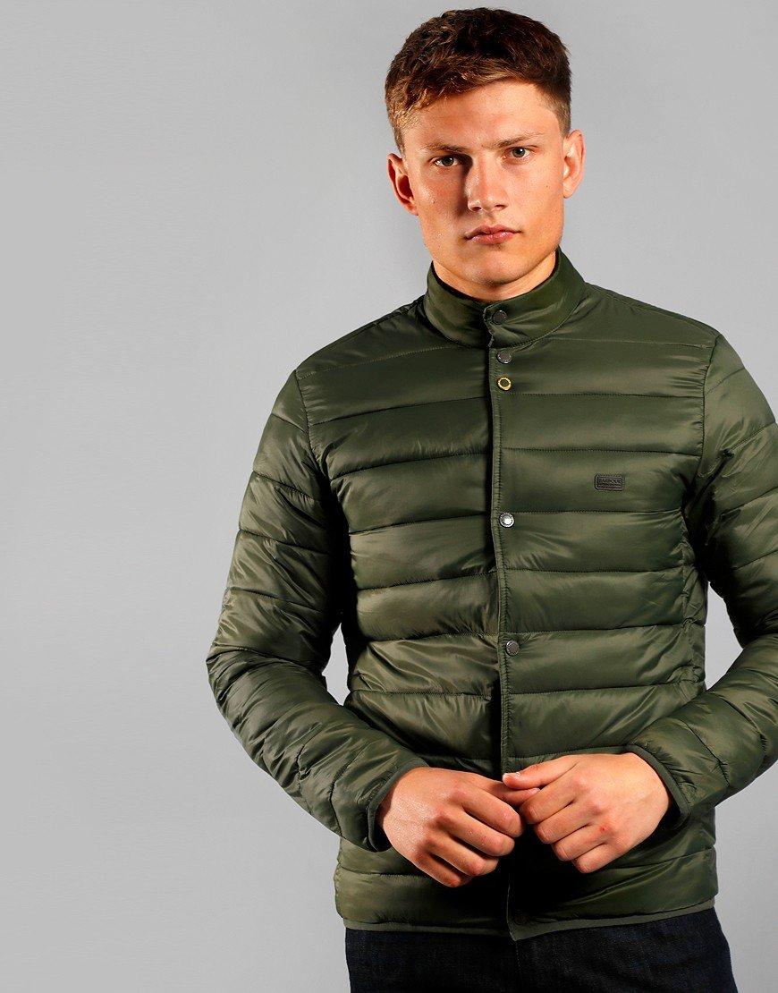 Barbour International Mark Quilted Jacket Sage