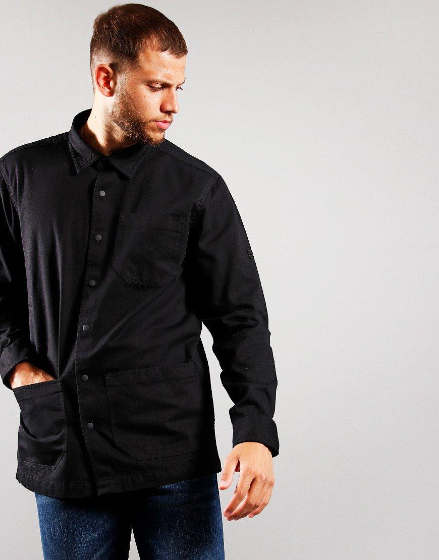 Barbour International Patch Overshirt Black