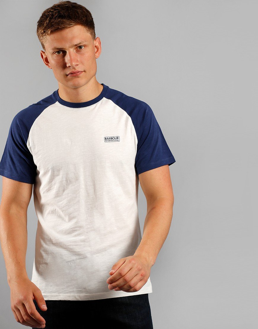 Barbour International Raglan T-Shirt Whisper White