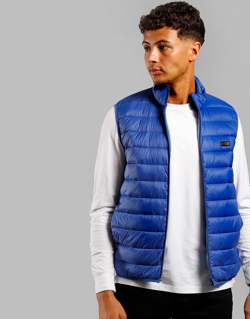 Barbour International Reed Gilet Charge Blue
